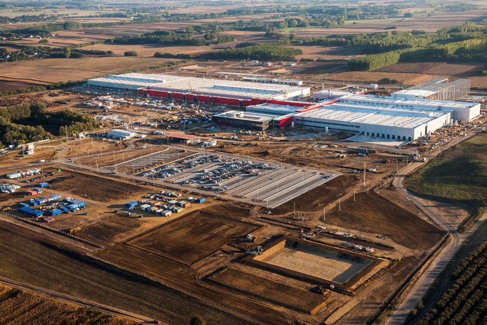 LEGO gyár Nyíregyháza
